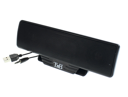 BARRE SON T'NB MULTIMÉDIA 2.0 L18.5XP2.6XH6.5CM 2X2WATT COMPATIBLE ORDINATEUR IPOD IPHONE MP3 CLIP FIXATION