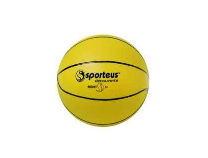 BALLON DE BASKET BALL PLASTICO ROTOTECH LITTLE EN PVC TAILLE 4 DIAMÈTRE 210MM 360G