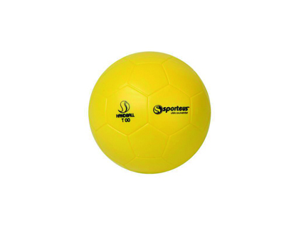 BALLON DE HANDBALL PLASTICO ROTOTECH INITIATION EN PVC TAILLE 00 DIAMÈTRE 145MM 190G