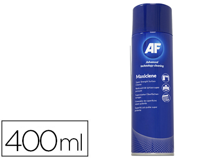 AÉROSOL MOUSSE SUPER ACTIVE MAXICLENE 400ML