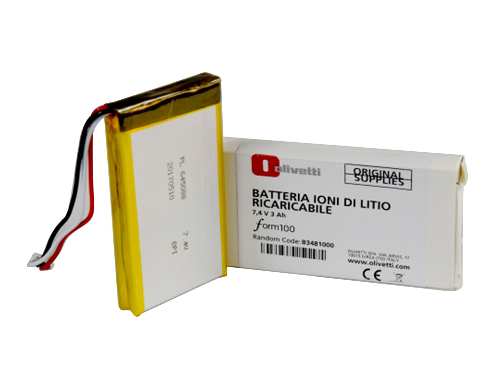 BATTERIE OPTIONNELLE OLIVETTI POUR CAISSE ENREGISTREUSE FORM 100